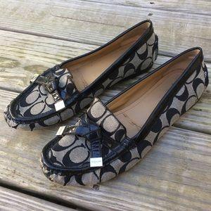 Coach Frida Loafers Size 8.5 Black